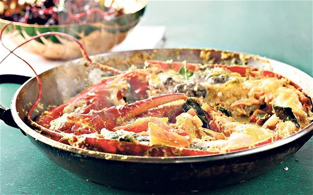Lobster curry recipe