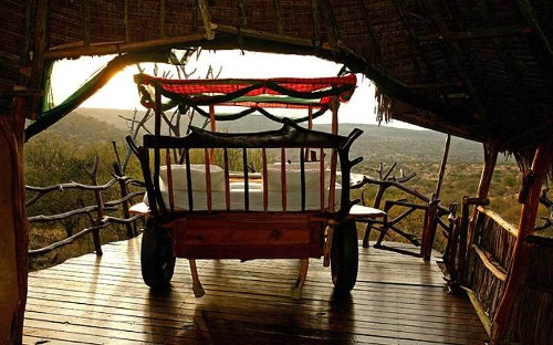 Safari camp beds under African skies: The Fab Five