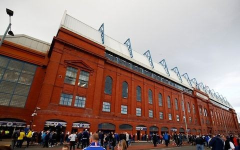 Rangers ordered by Uefa to close part of Ibrox for sectarian chanting in Europa League