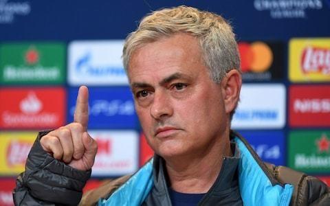 Jose Mourinho bans Tottenham players from watching replays of Bayern Munich humiliation