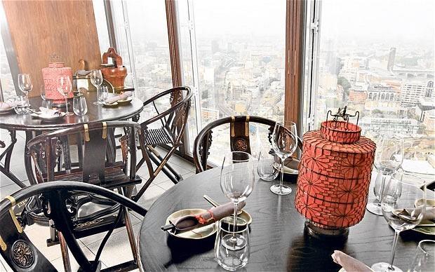 Hutong, London, restaurant review