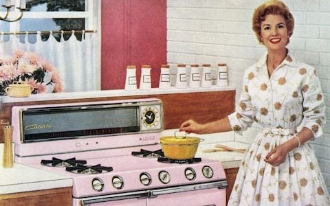 Back in the kitchen! Meet the women who want to be 'tradwives' - and cash in on domestic duty