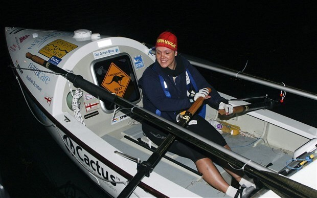 Briton becomes first to row solo from Japan to Alaska