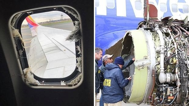 Southwest Airlines emergency landing: Banking executive killed after being sucked out of window at 32,000ft