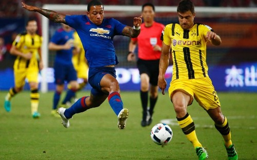 Manchester United vs Borussia Dortmund - live: Mkhitaryan strikes back as BVB go goal crazy with Dembele and Castro wonder hits