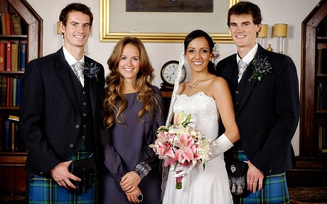 Andy Murray hints he may sport a kilt with no underwear on his wedding day