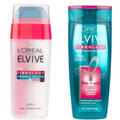 Is L'Oréal Paris' Elvive Fibrology going to thicken our hair?