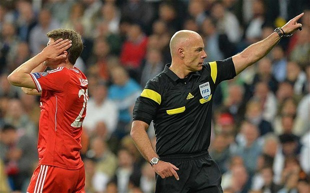 World Cup 2014: Brazil-bound Howard Webb shows at the Bernebeu why he is such a trusted referee