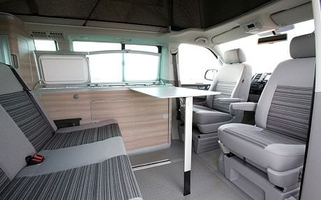 Carry on camping in VW's California