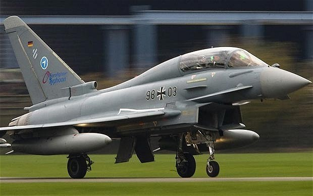 UK still in running for UAE Typhoon deal