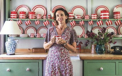 Meet the woman reviving Cornishware, one striped mug at a time