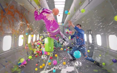 OK Go film latest video in zero gravity - and the results are stunning