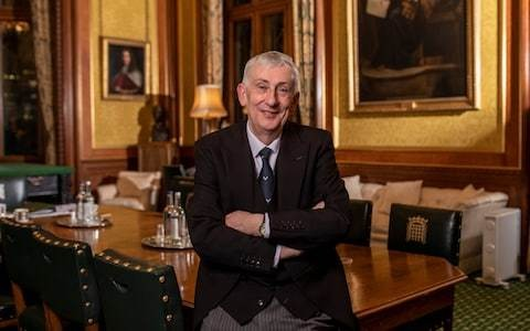 Sir Lindsay Hoyle distances himself from predecessor by pledging to transform 'transparency' as Speaker