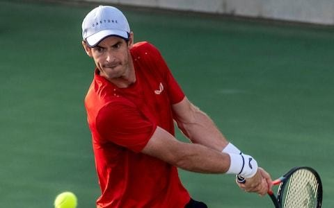 Andy Murray desperate for match practice as he builds towards Australian Open in January 2020