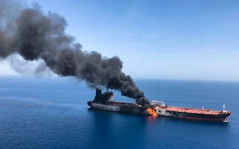 The clash in the straits of Hormuz demonstrate how much the Iranian economy is suffering
