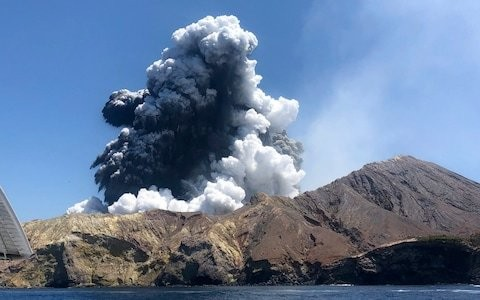 Death toll rises to eight in New Zealand volcano explosion as hospitals order in skin grafts to treat burn victims