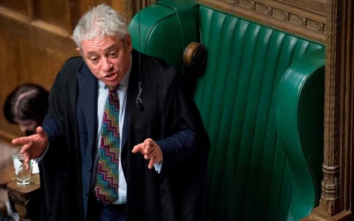 John Bercow could stay as Speaker until 2022 to thwart Downing St plan to deny him a peerage