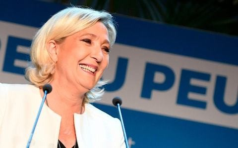 France's Le Pen declares victory over Macron in high-stakes European duel