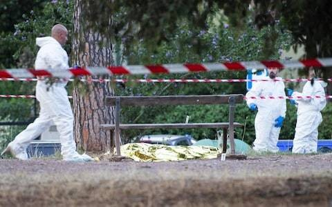 Leader of Italian far-Right football hooligans shot dead in Rome park