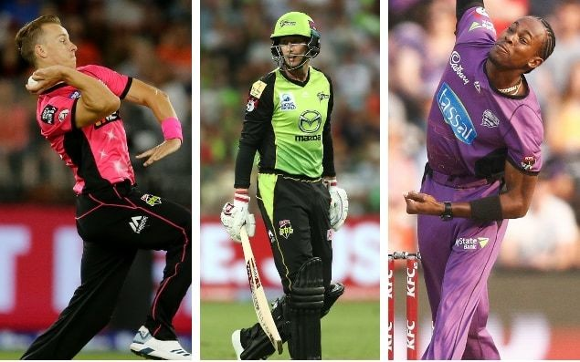 How did England's players fare in the 2018/19 Big Bash?