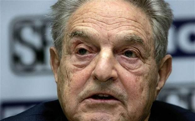 George Soros blasts 'parasite' banks