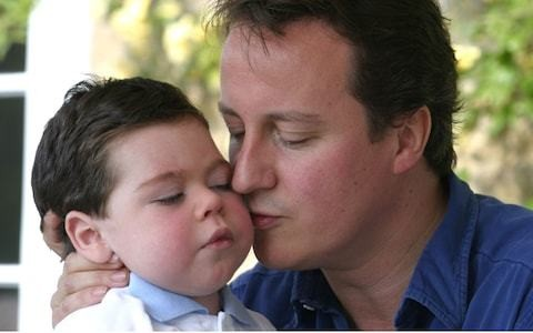David Cameron reveals the memory of his dead son made him back military action against Syria