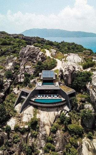 Inside the Six Senses 'stealth' hideaways, built on an uninhabited Seychelles island without moving a single rock