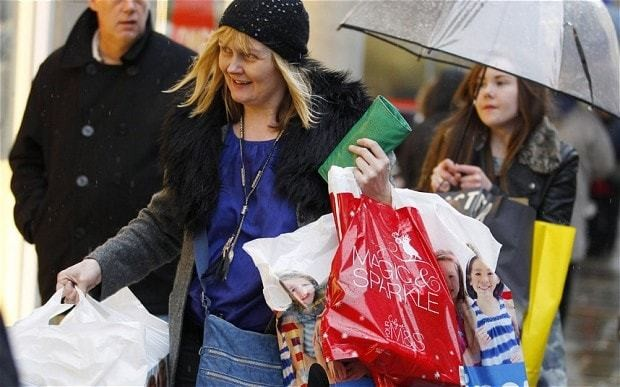Christmas shopping so stressful it triggers primal 'fight or flight' response
