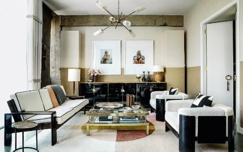 An art deco apartment gets a fresh new look