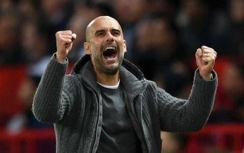 Pep Guardiola insists Manchester City will need to win all three remaining games to hold off Liverpool title challenge
