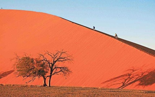 Namibia: 'the land God made in anger'