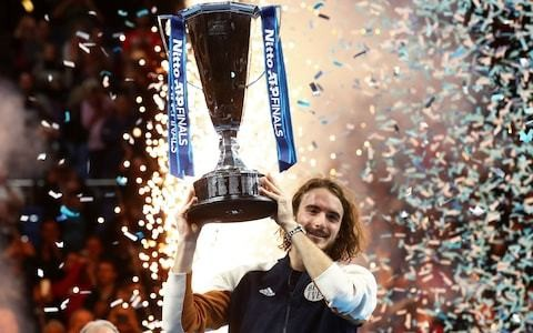 Stefanos Tsitsipas wins the ATP Finals becoming the youngest winner since 2001