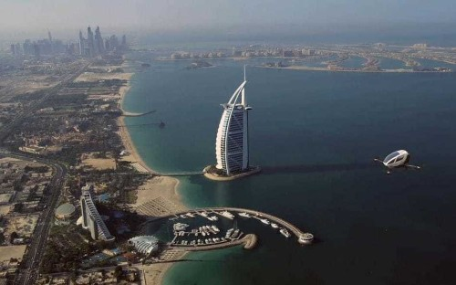Self-flying taxi to transport passengers in Dubai