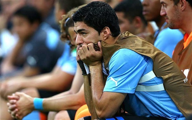 Uruguay striker Luis Suárez says he is '100 per cent' fit for 2014 World Cup meeting with England
