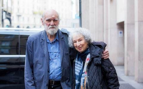 Graeme Gibson, partner of Margaret Atwood, dies in London during Testaments book tour