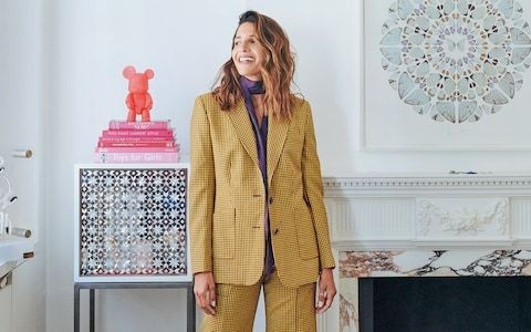 How this fashion designer created a home as colourful as her collection