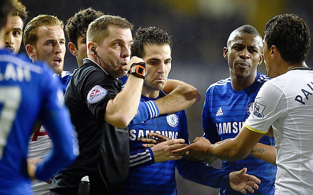 Chelsea manager Jose Mourinho blames 5-3 Tottenham defeat on 'slow' referee Phil Dowd