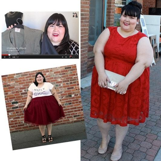 The plus-size bloggers taking on the fashion industry
