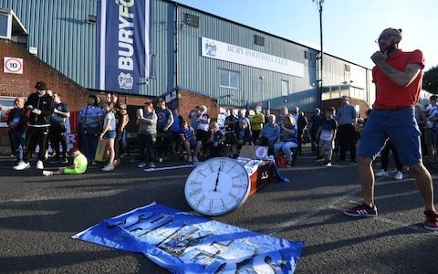 Bury granted stay of execution as EFL gives Rory Campbell until 5pm on Tuesday to complete takeover