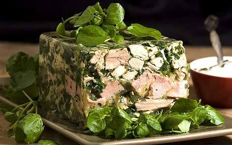 Boxing Day recipe: Parsley, turkey and ham terrine