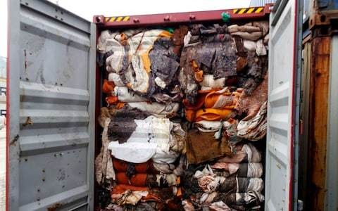 Sri Lanka to send 100 containers of 'human remains' disguised as recycling back to UK