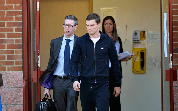England footballer Adam Johnson is charged with child sex offences