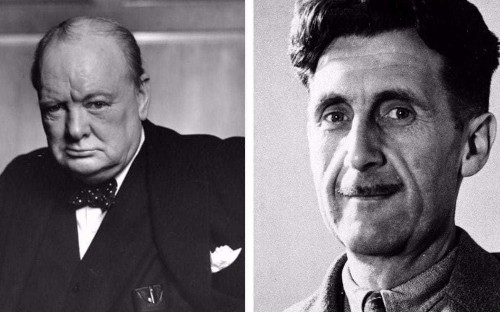Orwell and Churchill: more alike than we think?
