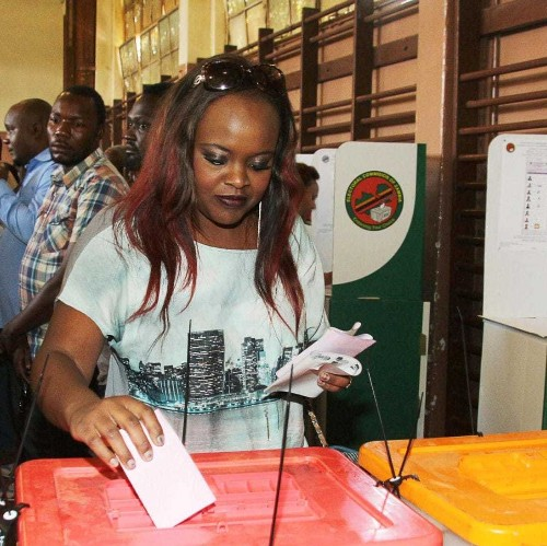 Zambians vote in tight presidential poll amid fears of violence