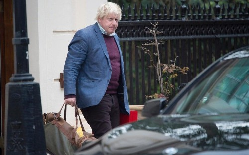 Boris Johnson insists he is 'all behind' Theresa May for a 'glorious Brexit' as Tories hail his vision for Britain outside EU