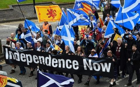 SNP urged to back new route to independence if Boris Johnson or Jeremy Hunt rejects referendum