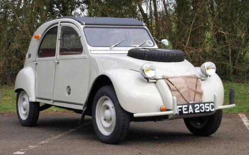 Rare twin-engined, four-wheel-drive Citroen 2CV 'Sahara' up for auction