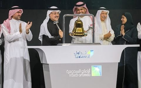 Saudi Aramco valuation hits $2 trillion