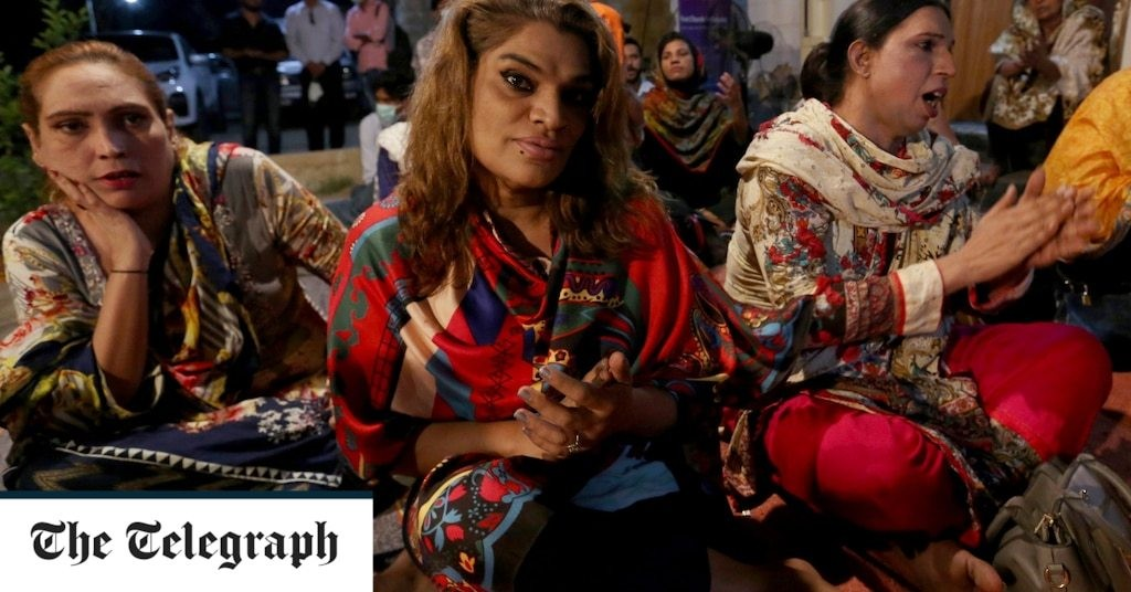 Pakistan's transgender community gets its own church: 'Now we have some peace'