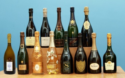 Champagne tasting with The Finest Bubble
